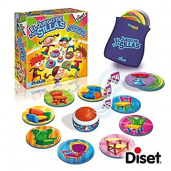 Diset The game of musical chairs (Sep) (Toys , Boardgames , Skills)