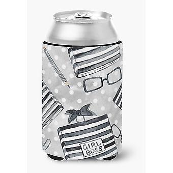 Каролинских сокровища BB7541CC акварель девушка босс журнал может или бутылка Hugger