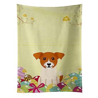 Carolines Treasures  BB6108KTWL Easter Eggs Jack Russell Terrier Kitchen Towel