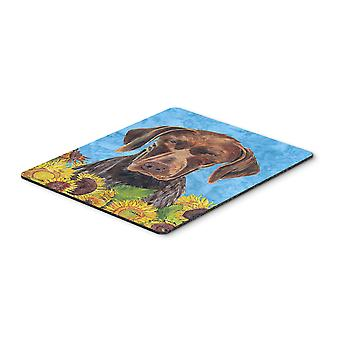 Carolines Treasures  SC9053MP German Shorthaired Pointer Mouse Pad, Hot Pad or T