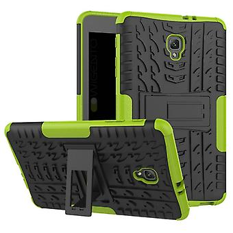 Hybrid outdoor protective cover case green for Samsung Galaxy tab A 8.0 2017 T380 T385 bag