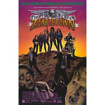 Chopper Chicks in Zombietown Movie Poster (11 x 17)