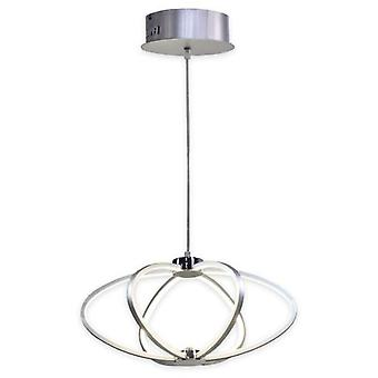 Mimax Hanging Led Decorative Shine 1 Silver 3200 Lumens 40 W