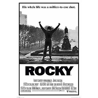 Rocky - His Whole Life Was Million to One Longshot Poster Poster Print