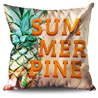 Pineapple Food Linen Cushion Pineapple Food | Wellcoda
