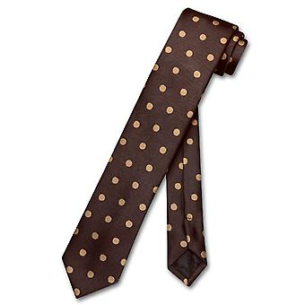 Vesuvio Napoli Krawatte Skinny w / Polka Dots 2,5