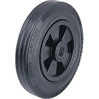 Blickle 20743 wheel with rubberised tyres and plastic-rims, Ø 160 mm Type (misc.) Pn
