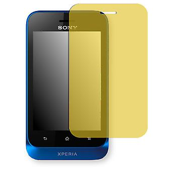 Sony Xperia Tipo dual screen protector - Golebo view protective film protective film