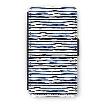 Samsung Galaxy A3 (2016) Flip Case - overraskende linjer