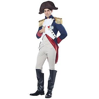 Napoleon French Emperor King Military Political Admiral Soldier Mens Costume