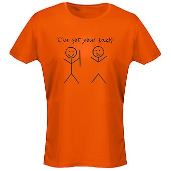 I,ve Got Your Back Womens T-Shirt 8 Colours (8-20) by swagwear