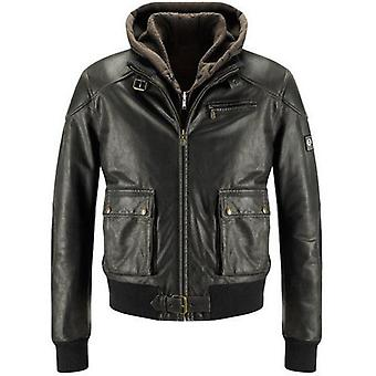 Carmel Mens Leather Jacket