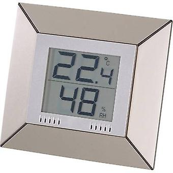Thermo-hygrometer Basetech Champagne