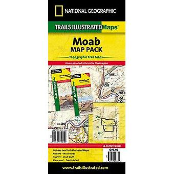 Moab Map Pack Bundle  Trails Illustrated Other Rec. Areas by National Geographic Maps