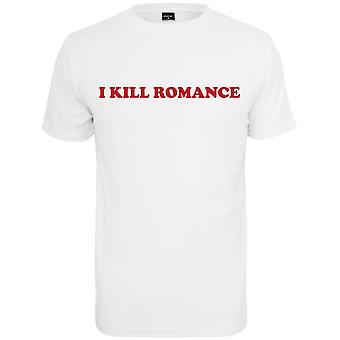 Mister t-shirt - uccidere ROMANCE bianco