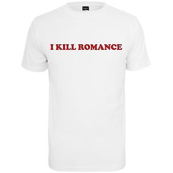 Mister tee shirt - DRÆBE ROMANCE hvid
