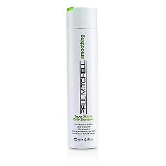 Paul Mitchell utjämning Super Skinny Daily Shampoo (jämnar och mjukar upp)-300ml / 10.14 oz