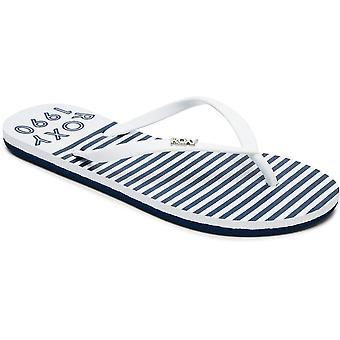 Roxy Womens/Ladies Viva Stamp II Toe Post Casual Flip Flop Sandals