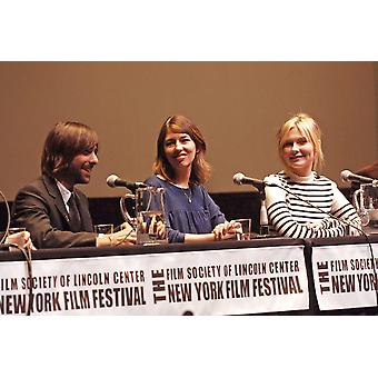 Jason Schwartzman Director Sofia Coppola Kirsten Dunst At The Press Conference For Marie Antoinette Press Conference - New York Film Festival Alice Tully Hall At Lincoln Center New York Ny October 13