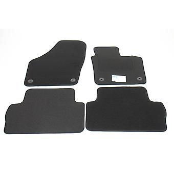 Fully Tailored Car Floor Mats - Seat ALHAMBRA 2010-2018 Black