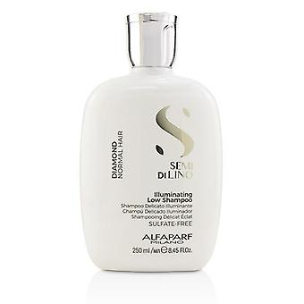 Alfaparf Semi Di Lino Diamond lysende lav Shampoo (normalt hår) - 250ml/8.45 oz