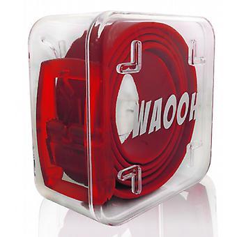 Waooh - Gürtel-Kunststoff Waooh rot