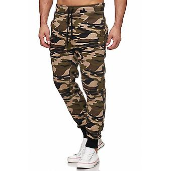 Tazzio fashion men's sweatpants basic camouflage