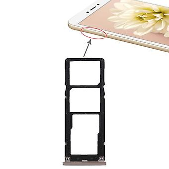 For Xiaomi Redmi note 5A cards Halter SIM tray slide holder replacement part gold