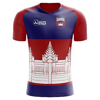 2018-2019 كمبوديا مفهوم الوطن القميص لكرة القدم