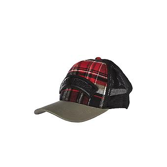 DSQUARED2 GRØNNE RØD SORT CHECK BASEBALL HAT