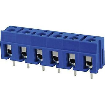 Degson DG300-7.5-02P-12-00AH Screw terminal 2 mm² Number of pins 2 Blue 1 pc(s)