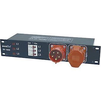 19 power distributor 6x Eurolite SB-1050 2 U