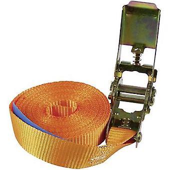 Mono strap Low lashing capacity (single/direct)=250 daN (L x W) 5 m x 25 mm Al