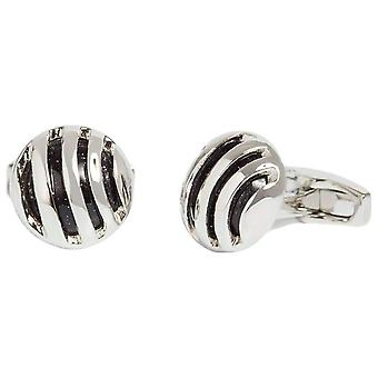 Simon Carter Goldstone Caged Cufflinks - Blue/Silver