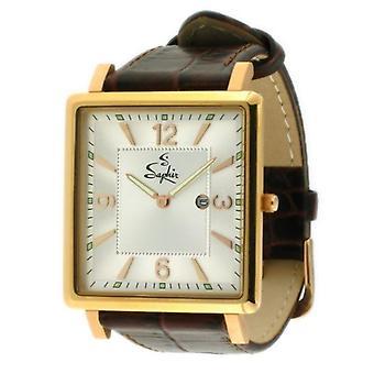 Saphir Mens Elegant Watch 700018Q-7 - Huge Reduction Save £100