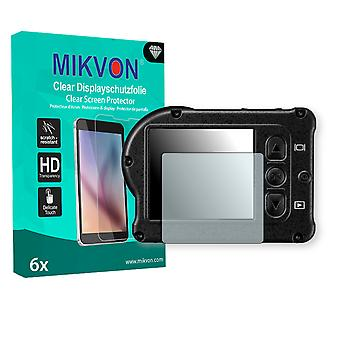 Nikon KeyMission 170 Screen Protector - Mikvon Clear (Retail Package with accessories)