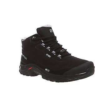 Salomon Shelter CS Waterproof Herren Trekkingschuhe Schwarz