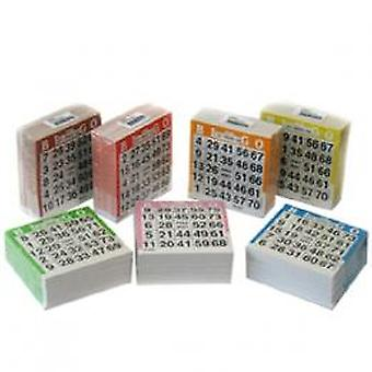 1500 sheet bingo cards