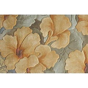 Flower Design 100% Wool Large Size Carpets