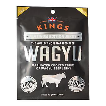 Kings Wagyu Beef Platinum Edition Jerky 25G Pack X4