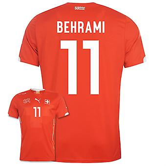 2014-15 Zwitserland World Cup Home Shirt (Behrami 11)