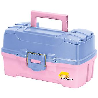 Plano Two Tray Fishing Tackle Box - Model: 6202-92 - Pink/Periwinkle