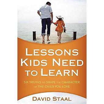 Lekcje dla dzieci muszą się nauczyć - sześć prawd kształtować charakter