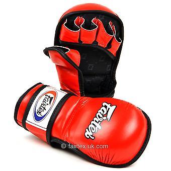 Fairtex FGV15 MMA Sparring guantes rojo