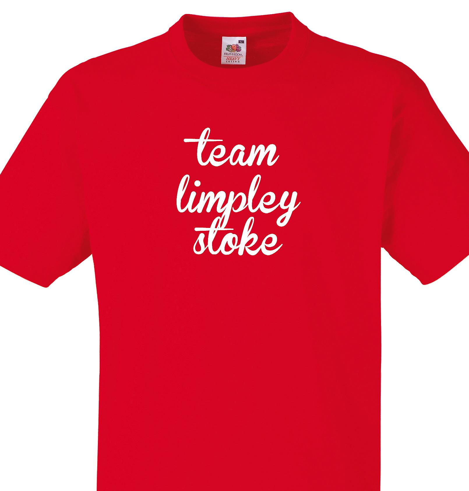 Team Limpley stoke Red T shirt