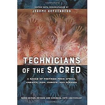 Technici van de Heilige, derde editie: een bereik van Poetries uit Afrika, Amerika, Azië, Europa en Oceanië