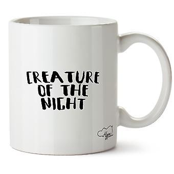 Hippowarehouse Creature Of The Night Printed Mug Cup Ceramic 10oz