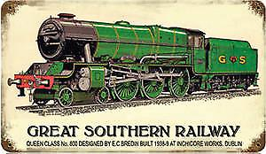 Great Southern Railway rusted metal sign    148