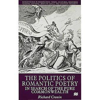 Politiken i romantisk poesi av Cronin & Richard