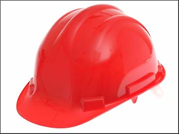 Scan Safety Helmet Red